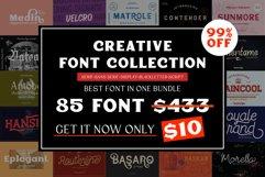 Creative Font Collection Bundle Product Image 1