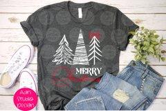 Merry christmas, Christmas Lights Svg Product Image 1