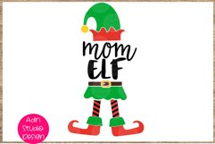 Mom elf SVG Christmas SVG Christmas, 51P Product Image 1