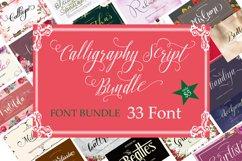 Calligraphy Font Bundle Product Image 1