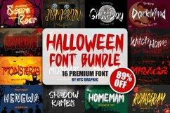 Halloween Font Bundle SALE!! Product Image 1