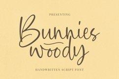 Web Font Bunnies Woody - Script Font Product Image 1