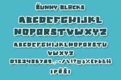 Web Font Bunny Blocks - Easter Display Font Product Image 5