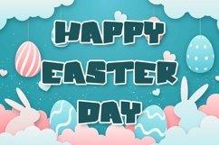 Web Font Bunny Blocks - Easter Display Font Product Image 4