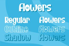 Bunny Flower - Display Font Product Image 2