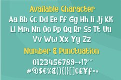 Bunny Flower - Display Font Product Image 3