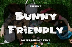 Bunny Friendly - Easter Display Font Product Image 1