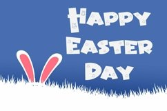 Web Font Bunny Friendly - Easter Display Font Product Image 3