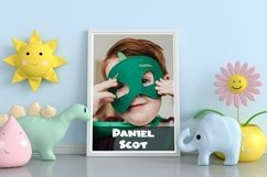 Web Font Bunny Friendly - Easter Display Font Product Image 4