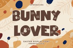 Bunny Lover - Easter Display Font Product Image 1