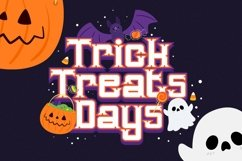 Web Font Bunsa - Halloween Font Product Image 4