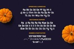 Web Font Bunsa - Halloween Font Product Image 5