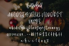 Butterball - Christmas Display Font Product Image 5