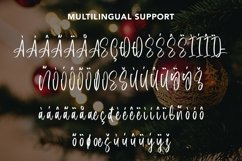Web Font Butterball - Christmas Display Font Product Image 6