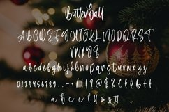 Web Font Butterball - Christmas Display Font Product Image 3