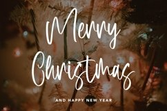 Web Font Butterball - Christmas Display Font Product Image 5