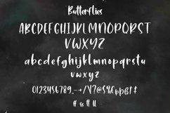 Web Font Butterflies - Cute Handletter Font Product Image 3