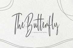 Web Font Butterfly Product Image 1