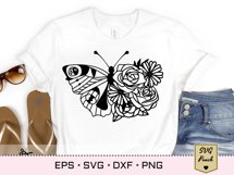 Florals and Butterfly SVG Product Image 2