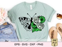 Florals and Butterfly SVG Product Image 4