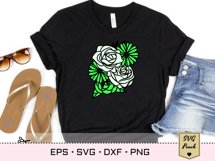 Florals and Butterfly SVG Product Image 3