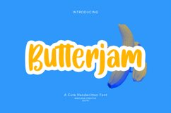 Butterjam Cute Handwritten Font Product Image 1