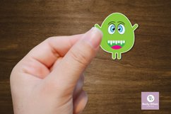 Googly Eyed Little Monsters Stickers Product Image 5