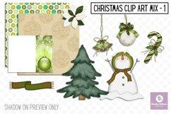 Christmas Clip Art Mix Bundle Product Image 2