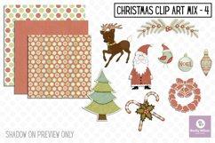 Christmas Clip Art Mix Set 4 Product Image 1