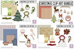 Christmas Clip Art Mix Bundle Product Image 1