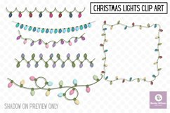 Christmas Lights Clip Art Product Image 1