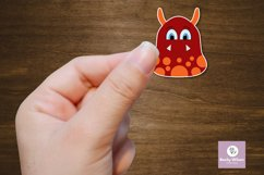 Googly Eyed Little Monsters Stickers Product Image 6