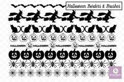 Halloween SVG - Brushes - Borders Bundle Product Image 4