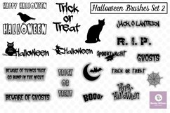 Halloween SVG and Brushes Set 2 Product Image 1