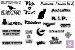 Halloween SVG - Brushes - Borders Bundle Product Image 3