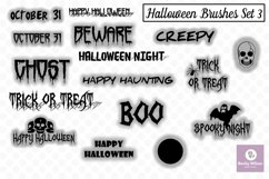 Halloween SVG and Brushes Set 3 Product Image 1