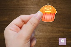Cute Halloween Cupcake Stickers Product Image 6
