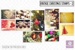 Christmas Vintage Stamps Set 2 Product Image 1