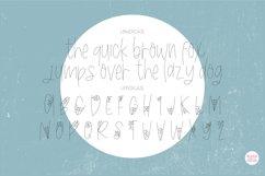 """BLACK WIDOW"" Halloween Sketch Font - Single Line/Hairline Product Image 2"