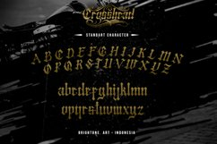 Crosshead - Blackletter Tattoo Font Product Image 3