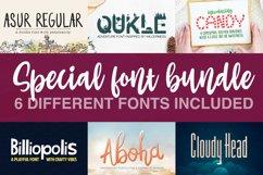 Special Font Bundle - Crafter Font Bundle Product Image 1