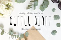 Gentle Giant Condensed Font Product Image 1