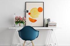 Geometric print art, Boho geometric shapes, Minimalist print Product Image 4