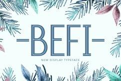Web Font Befi Product Image 1
