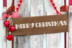 Holiday Cookies - A Hand-Lettered Christmas Font Product Image 3