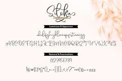 Siloka | Script Font Product Image 3