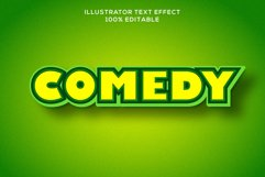 coemdy text effect editable vector Product Image 1