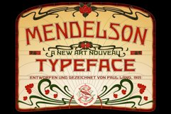 Mendelson Typeface Product Image 1