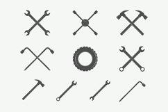 Mechanic and Car Repair Emblems Bundle Product Image 2