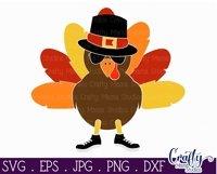 Thanksgiving Svg, Boy Turkey Svg, Thanksgiving Sublimation Product Image 3